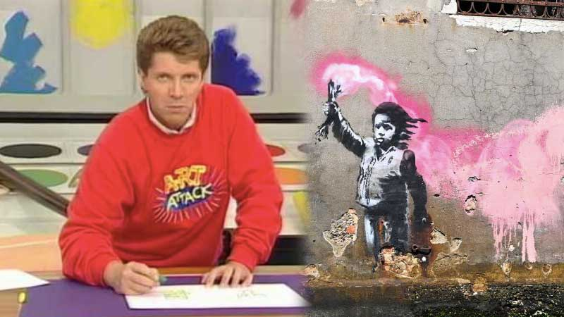 Could Neil From 'Art Attack' Actually Be Banksy? An Investigation