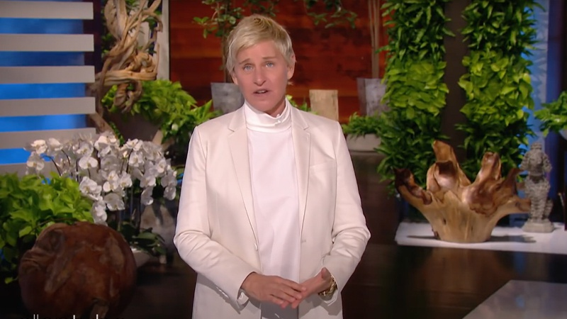 Ellen DeGeneres addresses toxic workplace allegations in first show back