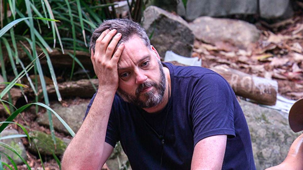 Iain Lee on I'm a Celebrity... Get Me Out of Here! in 2017