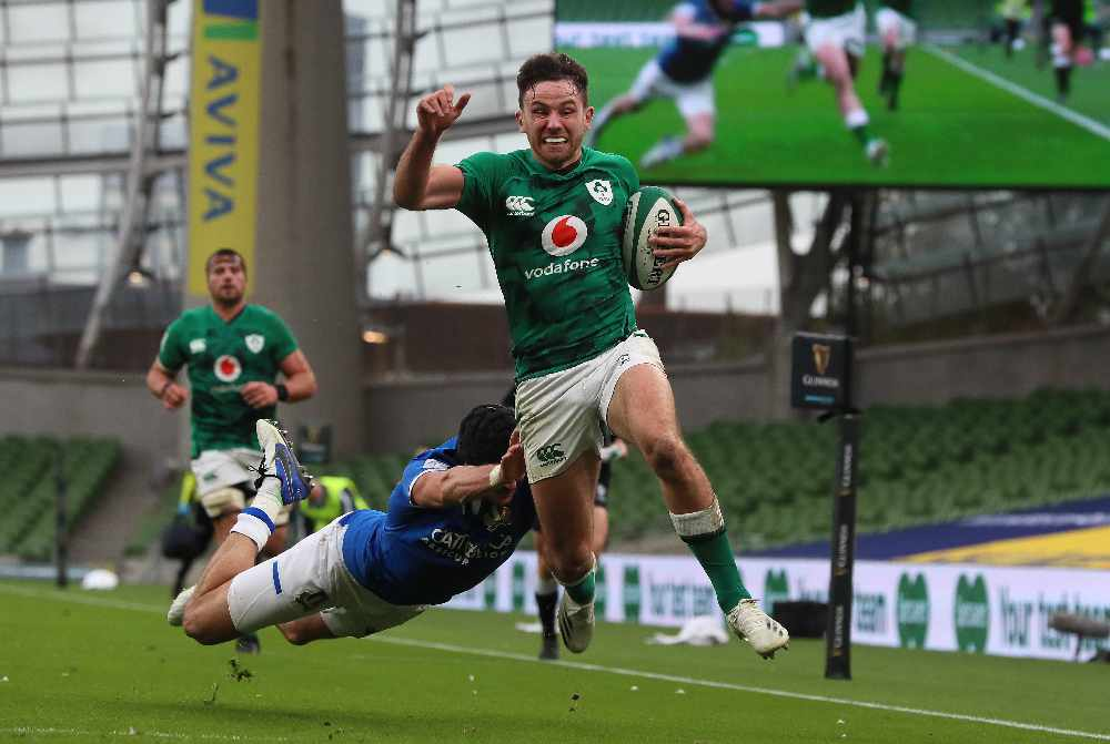 Ireland dismantle Italy to set up French showdown