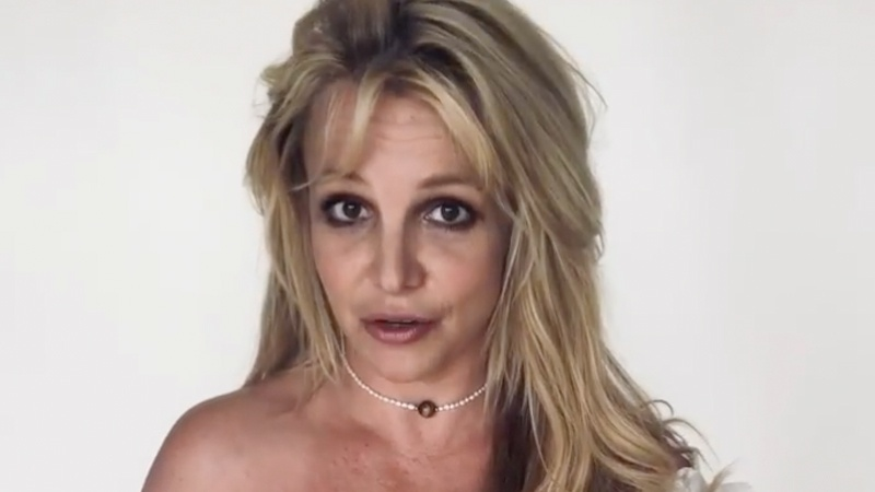 Britney Spears tells anxious fans 'I'm fine' By