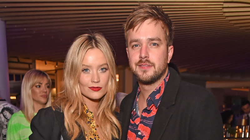 Laura Whitmore is expecting her first child with Iain Stirling