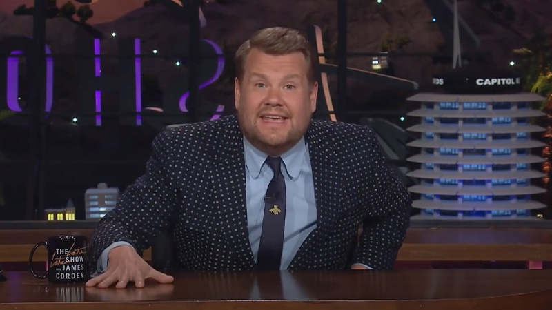 WATCH: James Corden becomes emotional as he addresses Super League on chat show - Dublin's Q102
