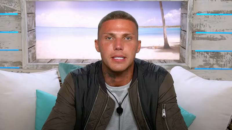 Love Island's Danny points assertion from contained in the villa amid controversy