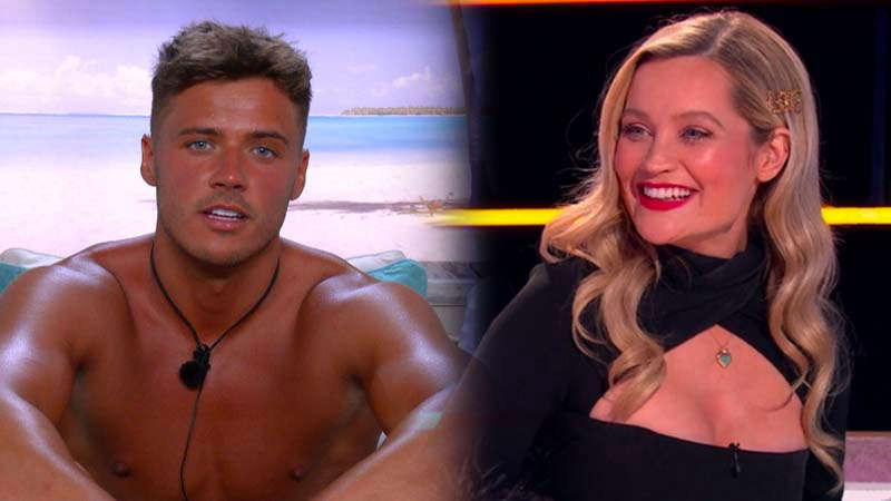 Love Island's Brad slams 'silly' query Laura Whitmore requested him throughout reunion