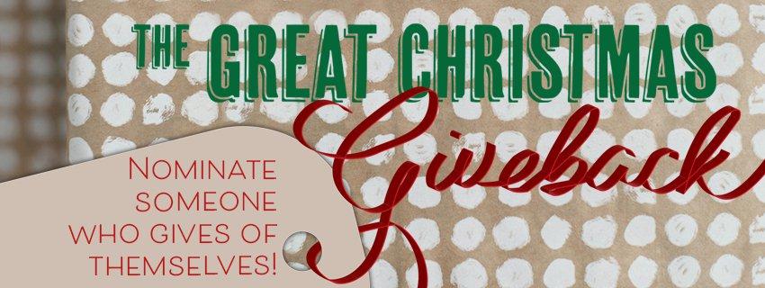 Great Christmas Give Back