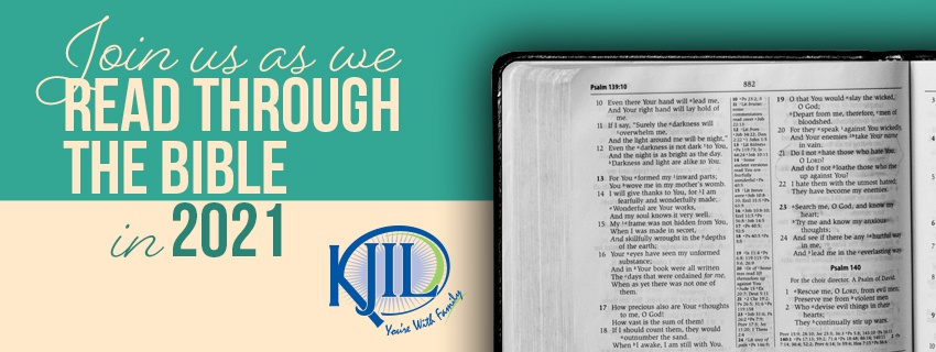 Read Through The Bible With KJIL