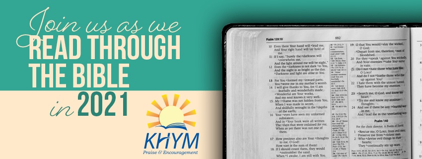 Read Through The Bible With KHYM