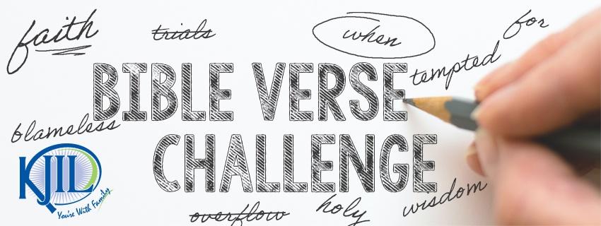 Bible Verse Challenge - KJIL