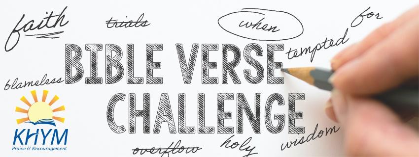Bible Verse Challenge - KHYM