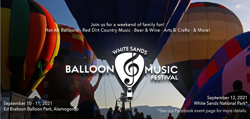 White Sands Balloon and Music Festival