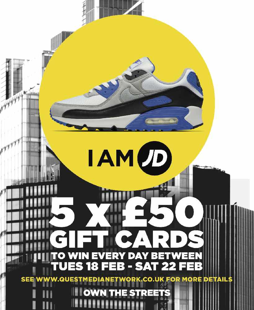 25 x £50 JD Gift Cards Up for Grabs