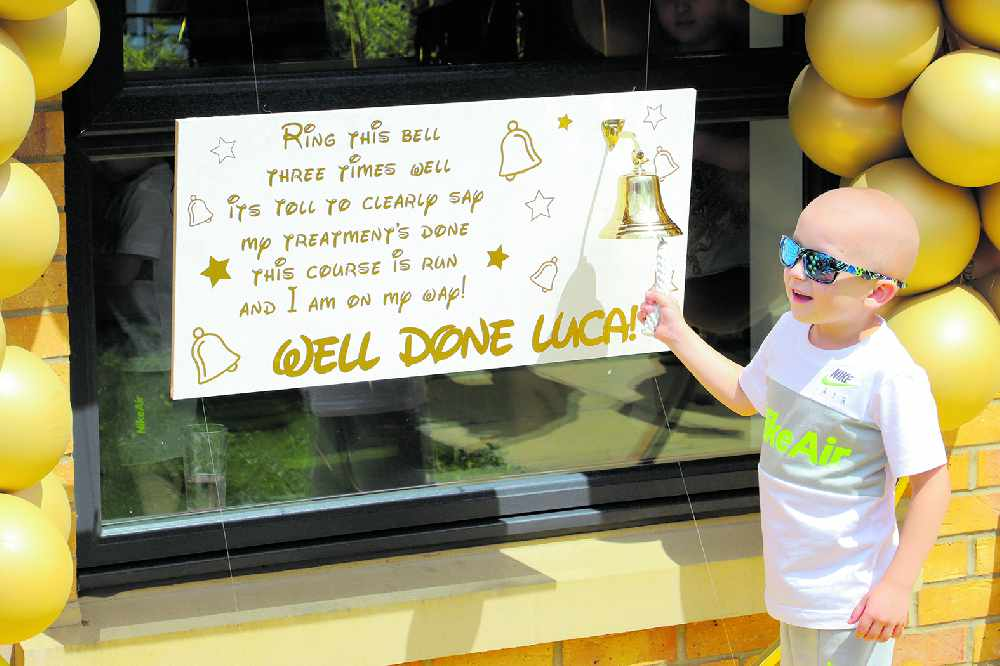 Luca rings the bell and is still dreaming of Disney