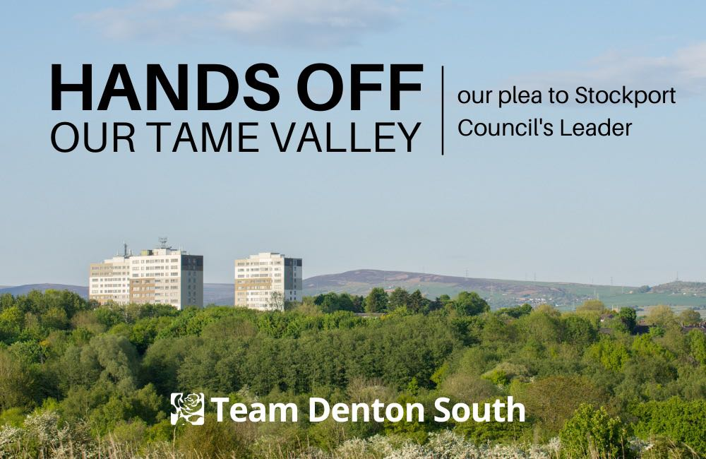 Denton politicians' plea to Stockport Council leader over Tame Valley development