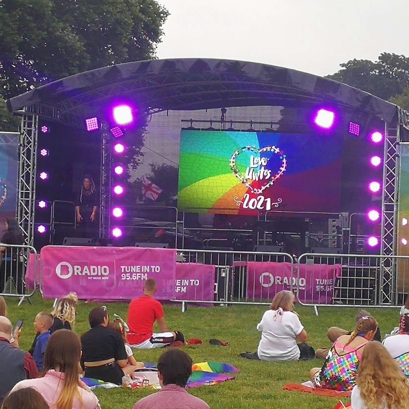 Reading Pride Love Unites Festival 2021