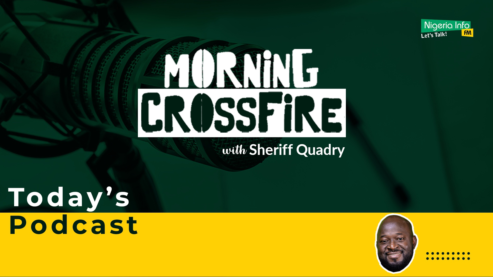 Morning Crossfire With Sheriff Quadry