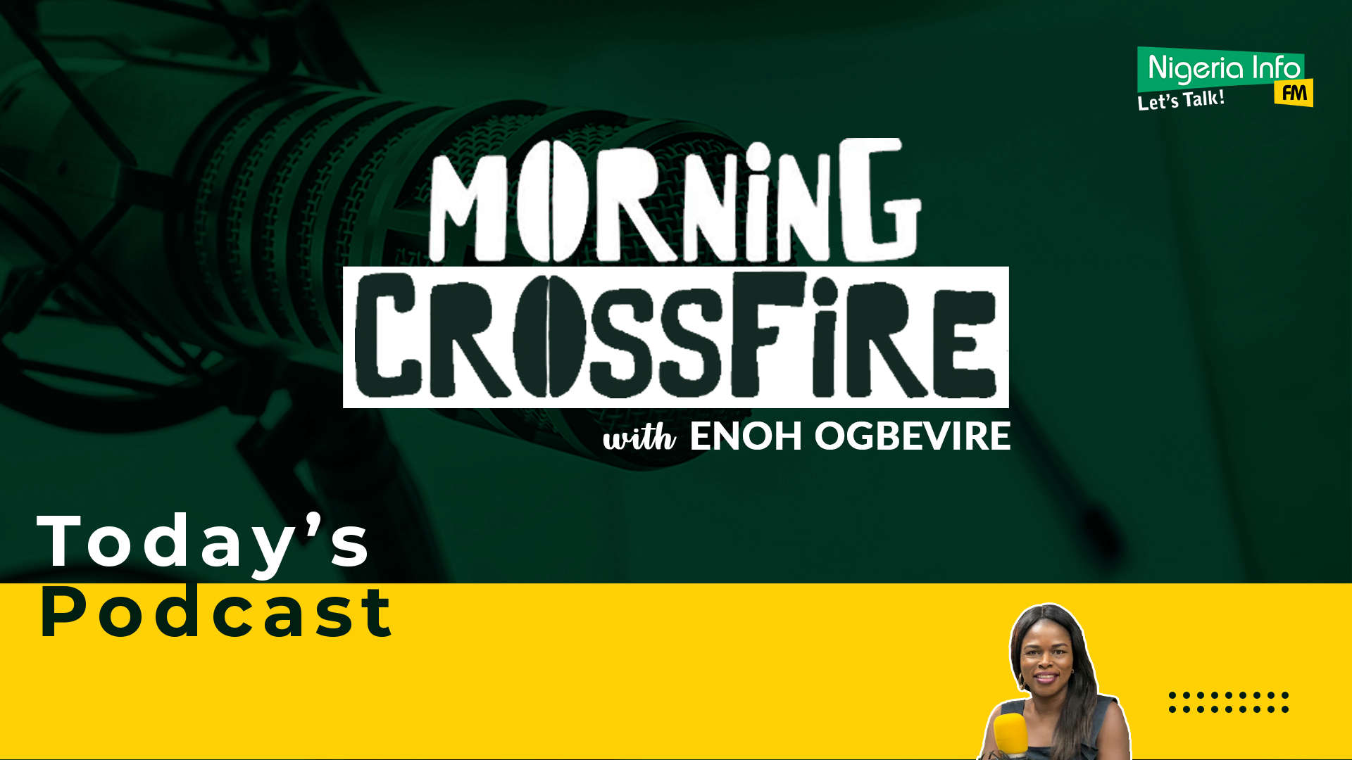 Morning Crossfire with Enoh