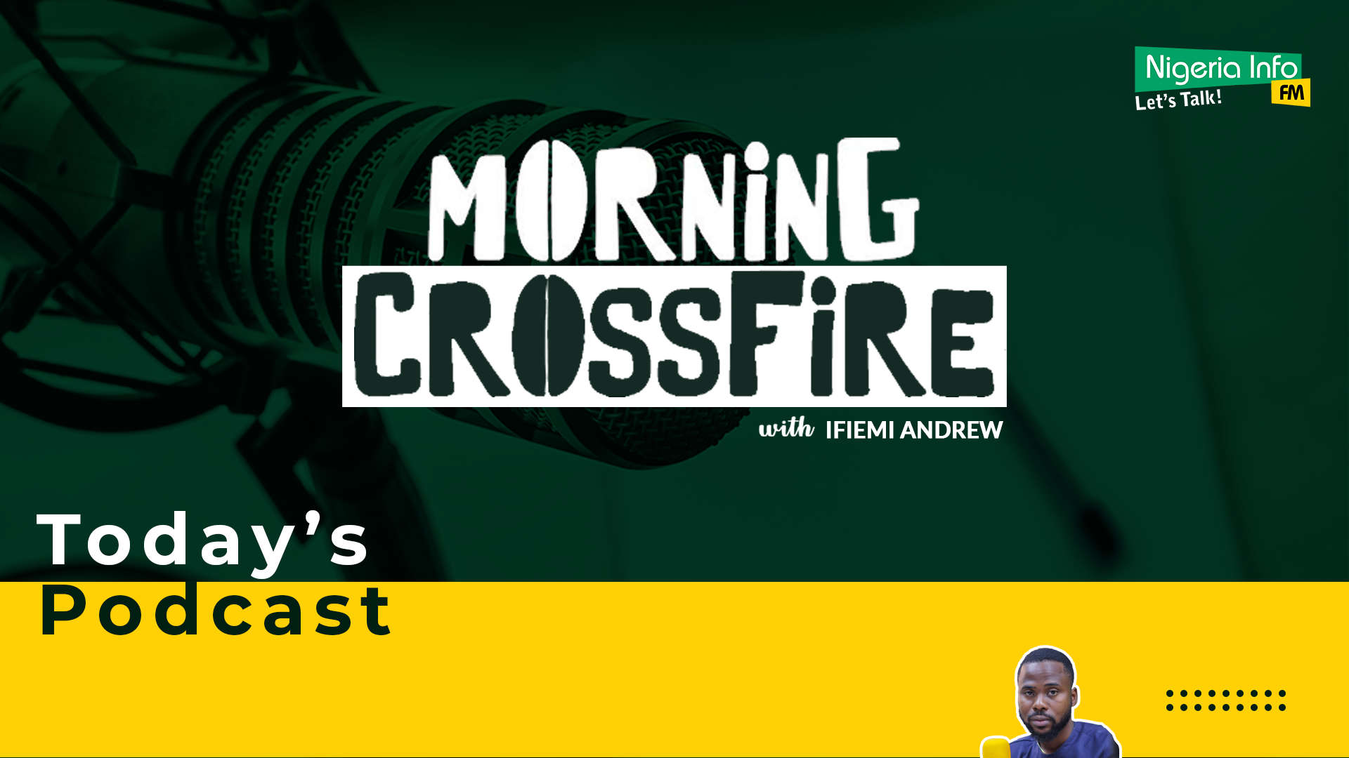 Morning Crossfire with Andrew