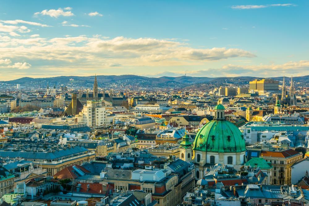 Vienna, where Before Sunrise was set