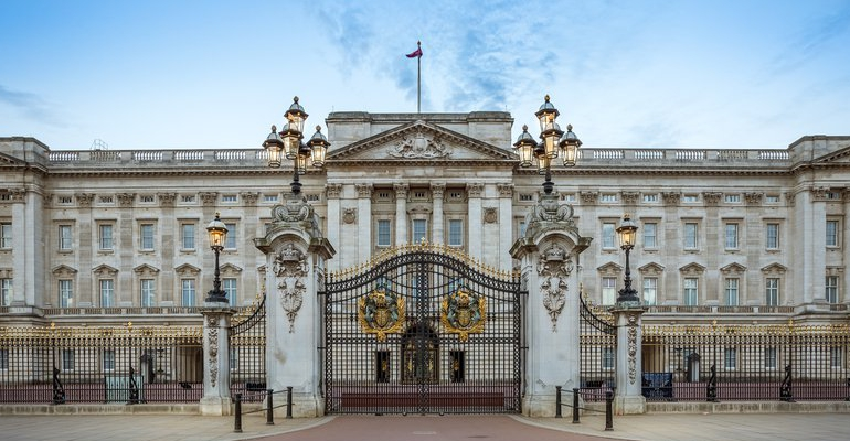Buckingham Palace stock