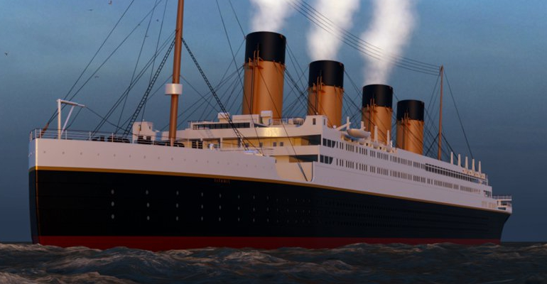 Titanic stock