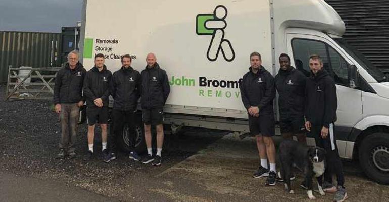 John Broomfield Removals - Team : Credit John Broomfield