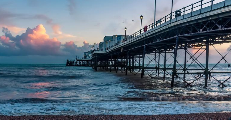 Worthing Pier stock