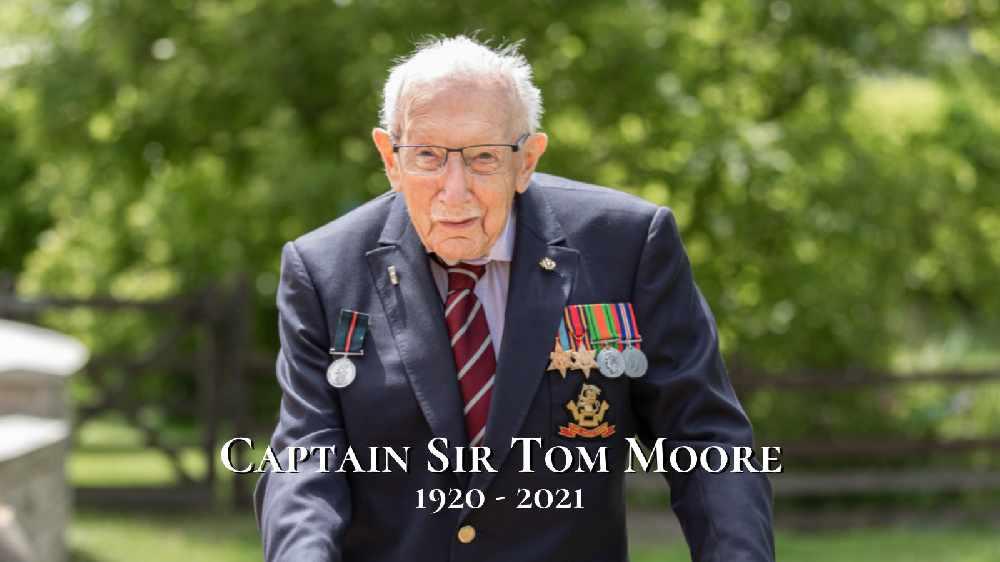 """NHS Hero Captain Sir Tom Moore Has Died Aged 100"""""""