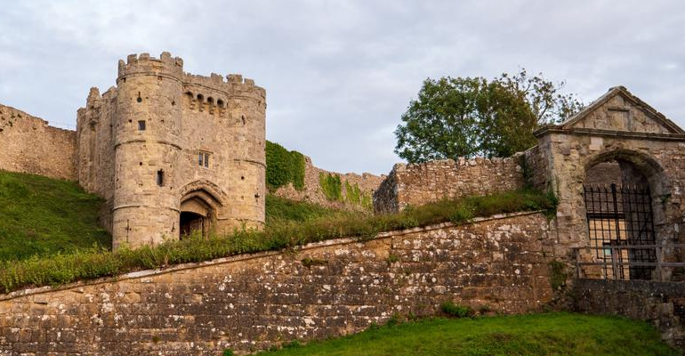 Carisbrooke Castle stock