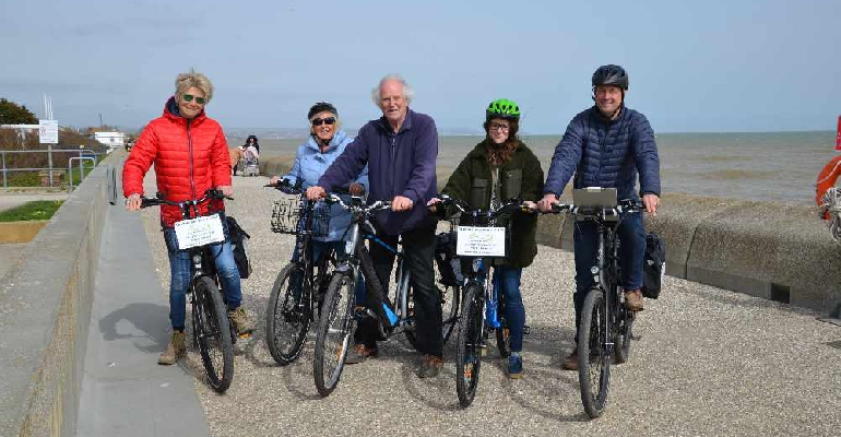 Dymchurch bikes permission needed