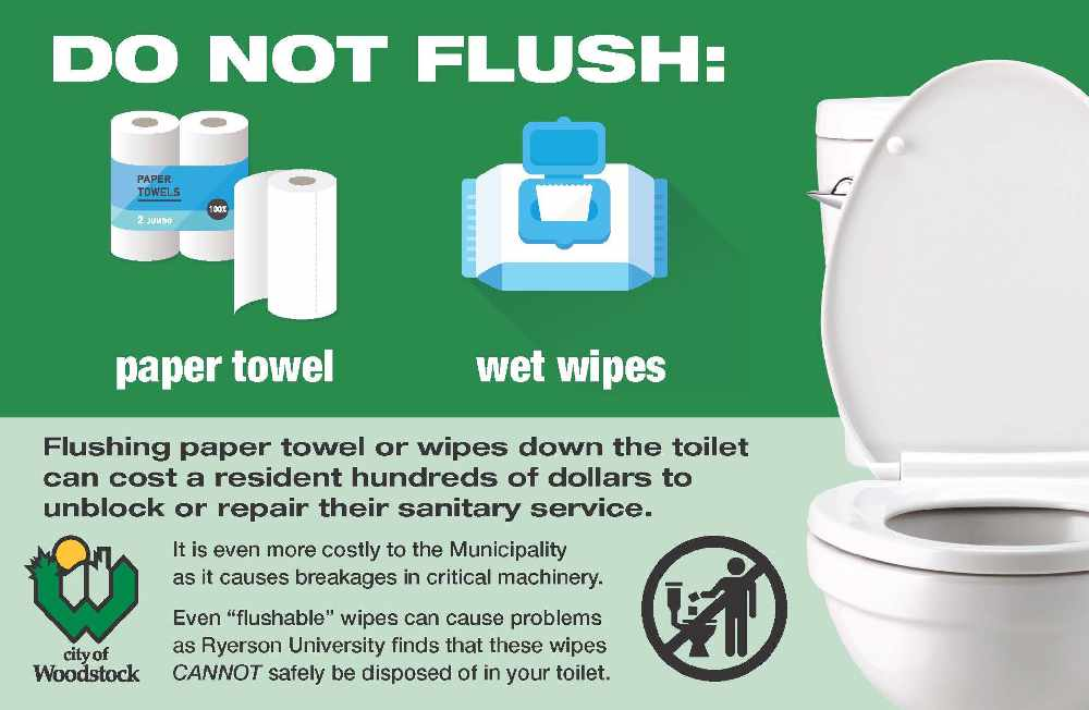Watch What You Flush Down The Toilet 104 7 Heart Fm