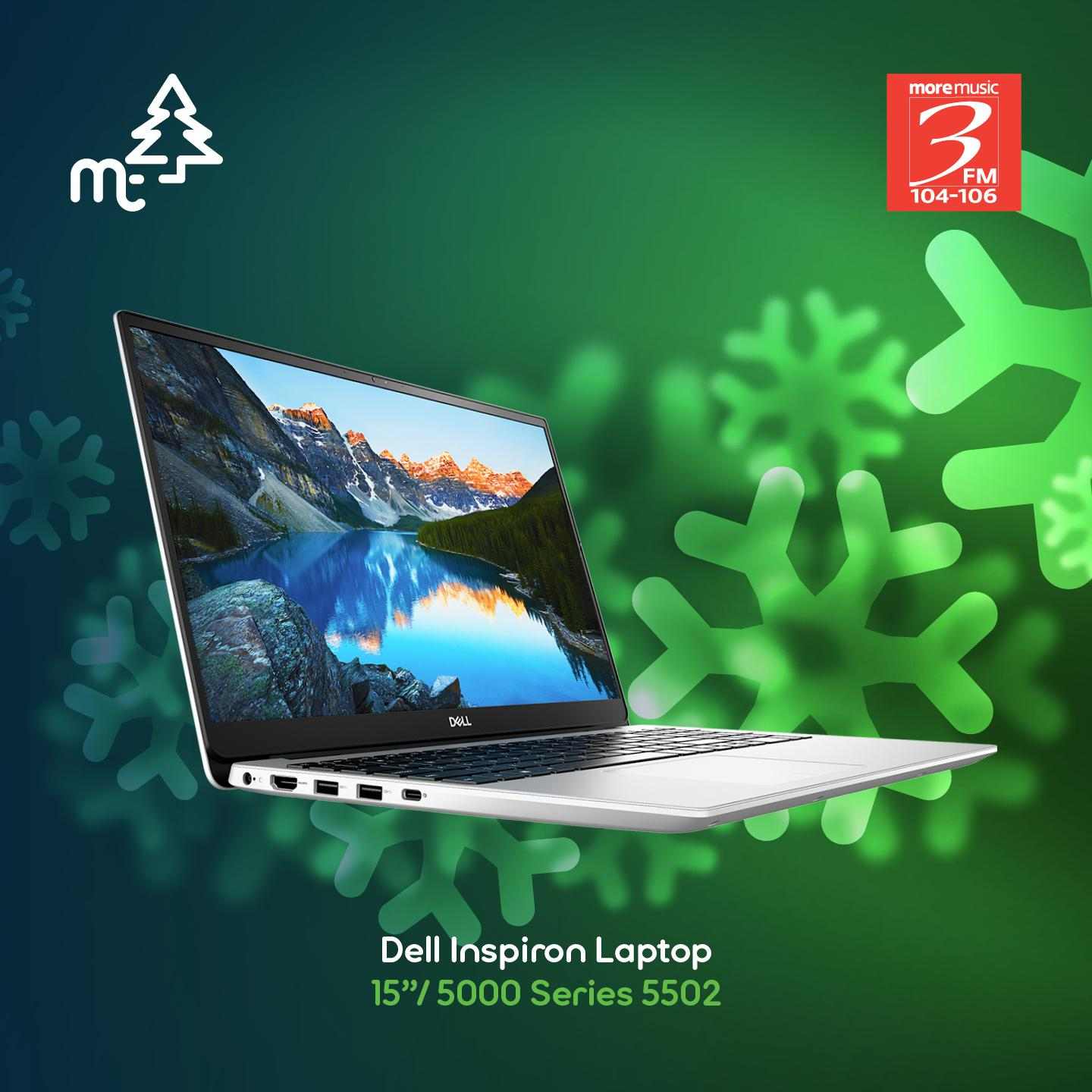 Dell Inspiron Laptop 15inch 5000 Series 5502