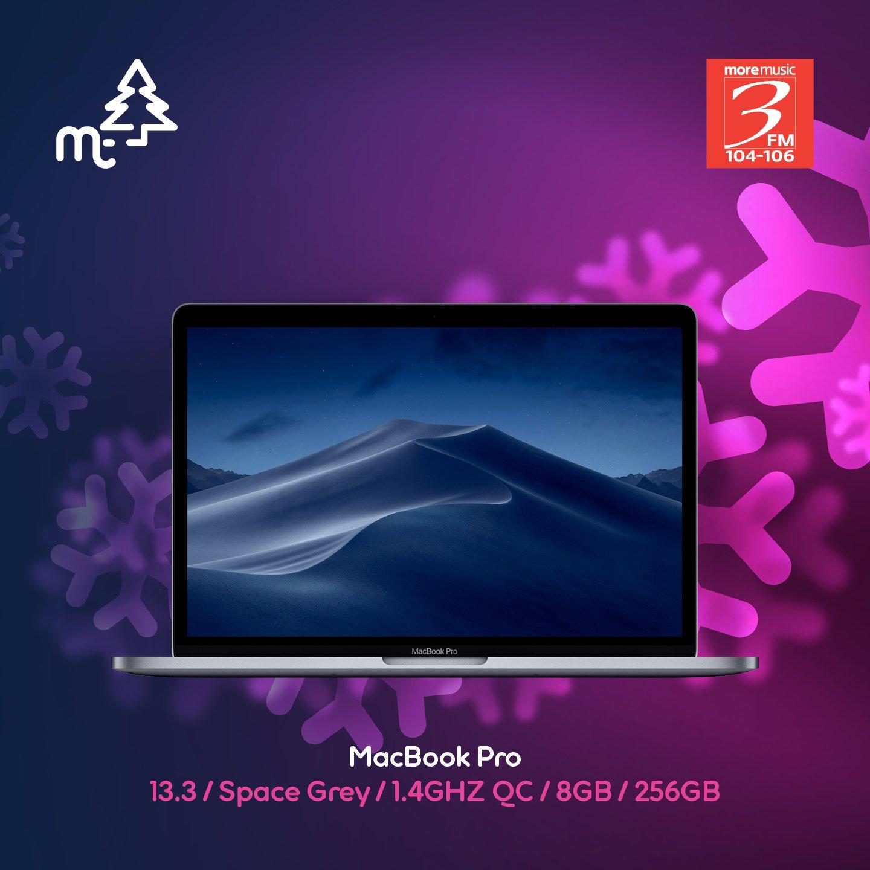 MacBook Pro 13.3 Space Grey/1.4GHZ QC/8GB/256GB