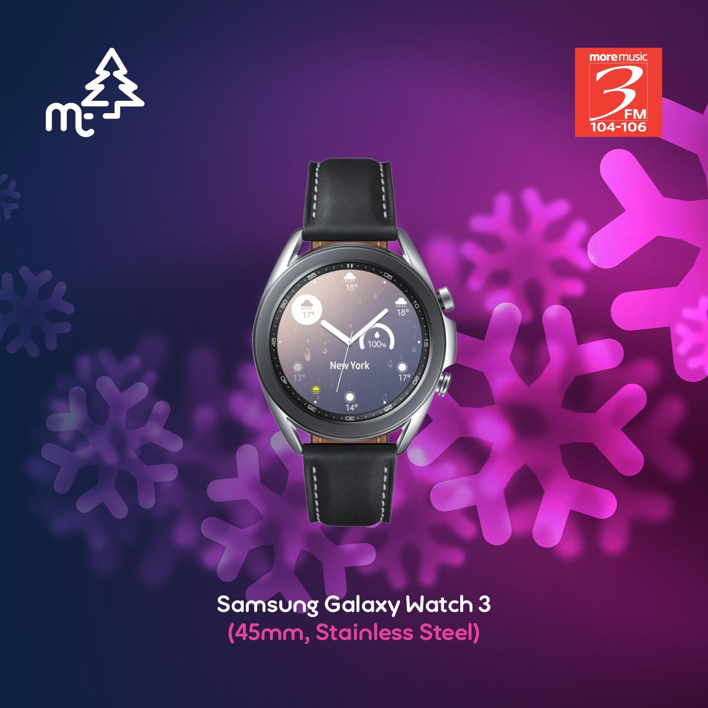 Samsung Galaxy Watch3 Stainless Steel 45mm
