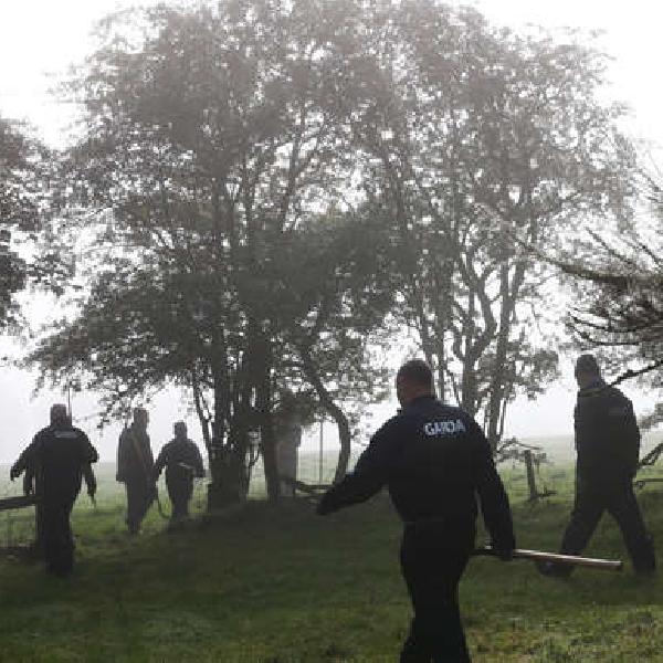 Deirdre Jacob CROP Gardai searching woodlands in Usk Little 11/10/18 - RollingNews