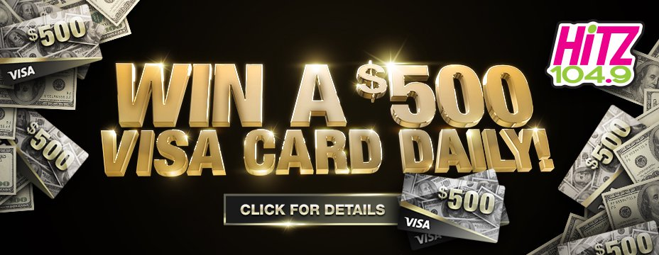 $500 Visa Card