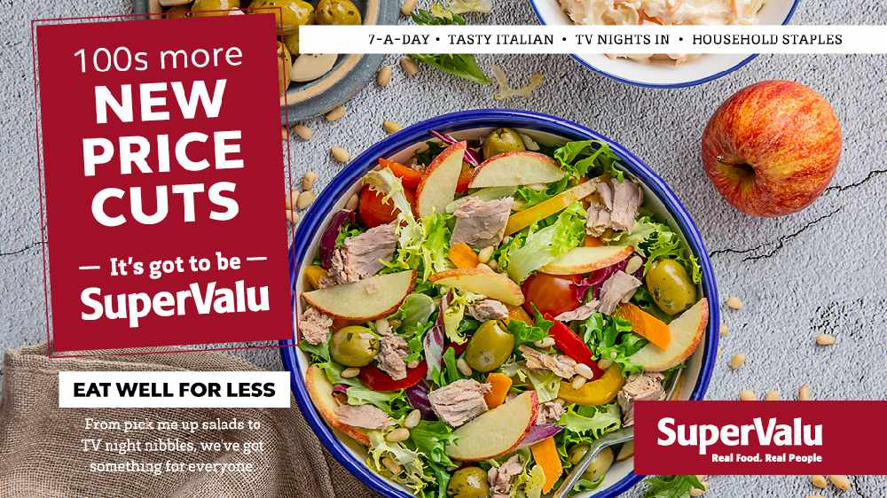 Win Up To €1,000 For SuperValu!