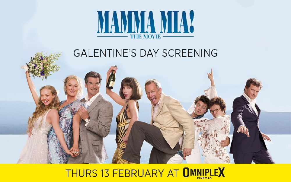 At The Flix: Mamma Mia Galentine's Day Screening