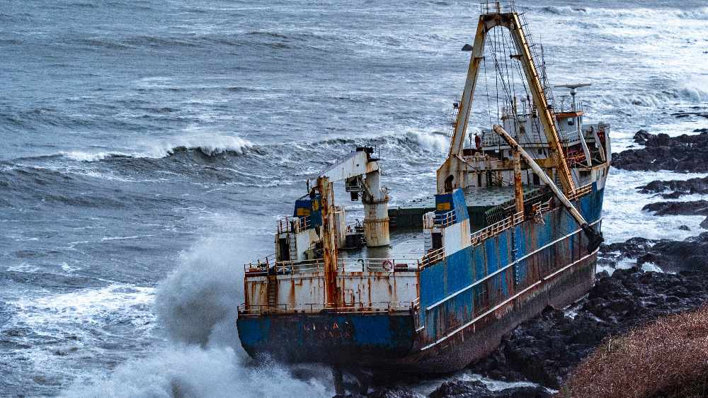 Environmental Scientists Have Visited The Site Of An Abandoned Cargo Ship In East Cork