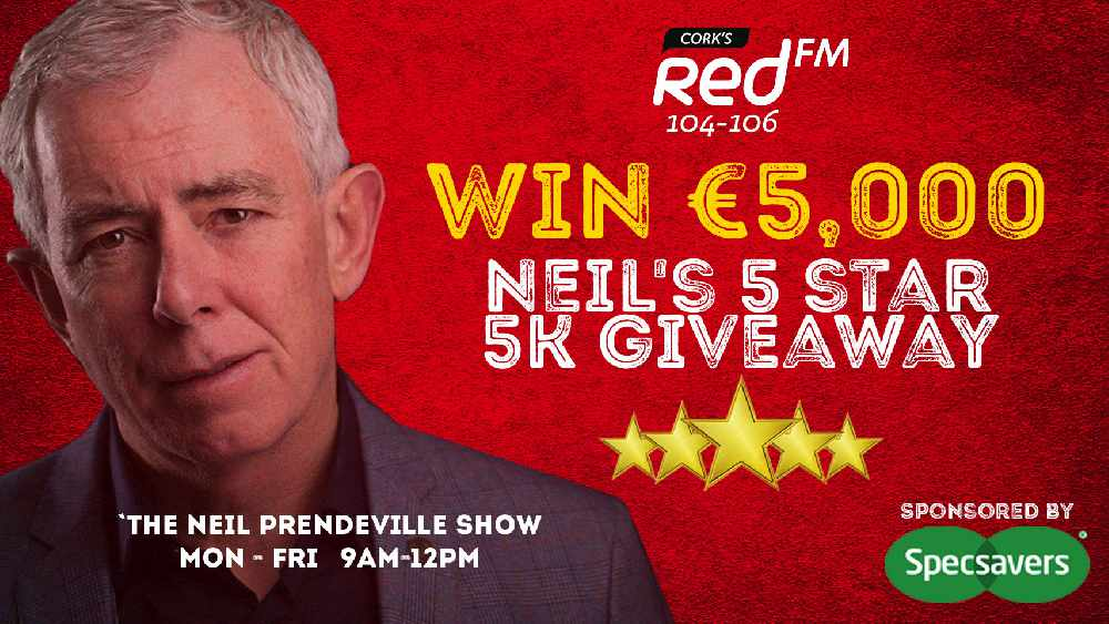 Win €5,000 On Neil's 5 Star 5K Giveaway!