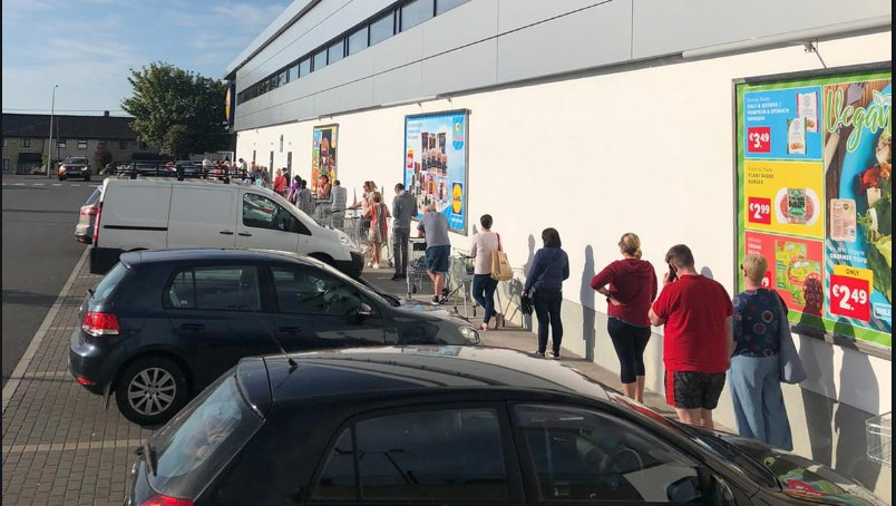LISTEN BACK: Mark catches up with shoppers in Lidl as the summer consumerism continues