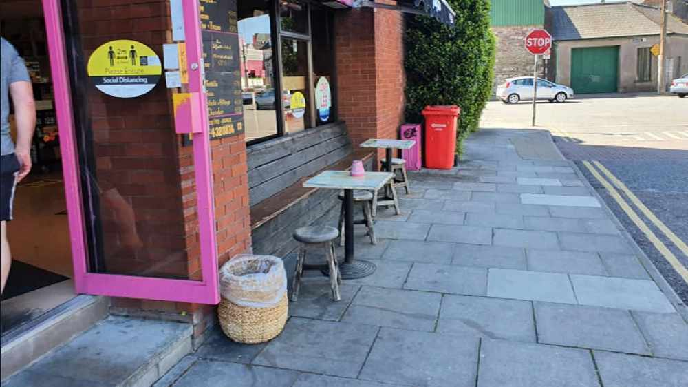 LISTEN BACK: Paul Walsh of the 3 Little Piggies Cafe spoke to Neil after being told to remove outside seating by the Gardaí after they received complaints