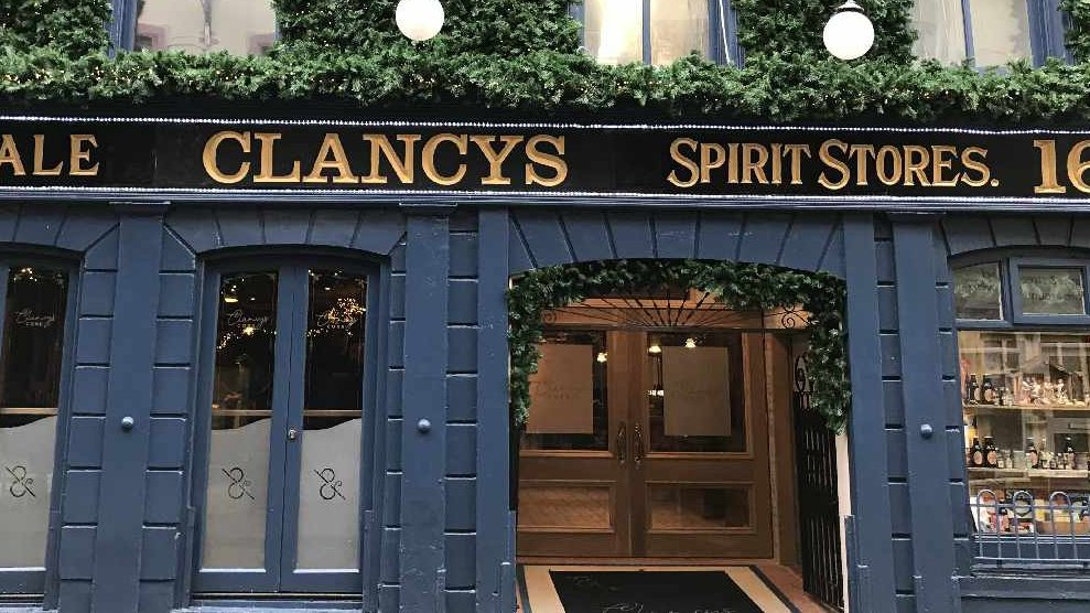 LISTEN BACK: Paul Montgomery of Clancy's spoke to Neil about the investment put into the bar to be compliant with social distancing