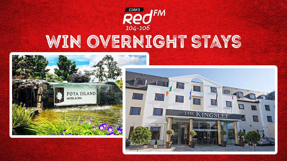 Win luxurious overnight stays at Fota Island Resort and The Kingsley
