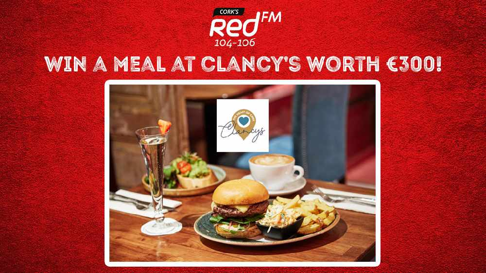 Win athree course meal for four with a bottle of Moet and a round of cocktails at Clancy's!