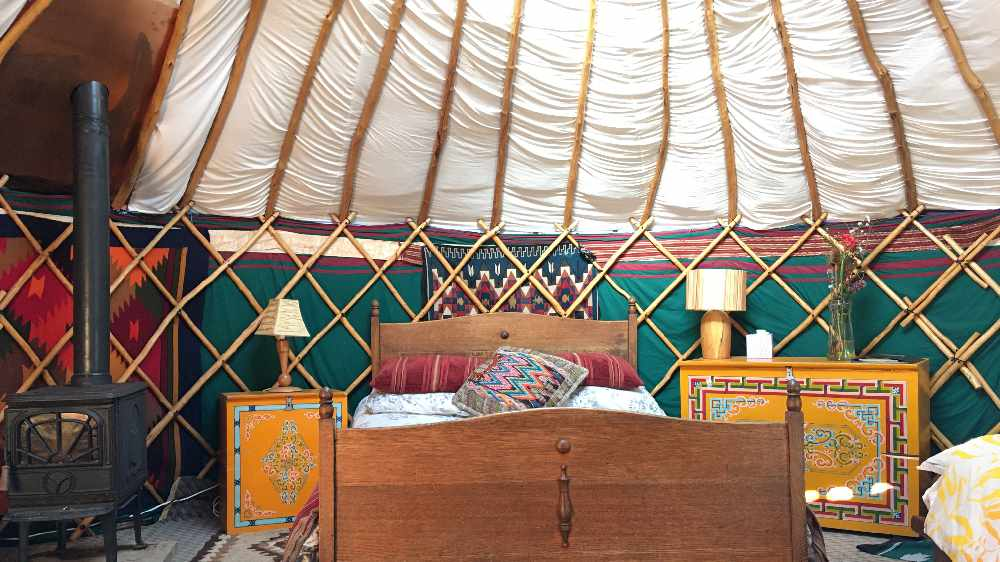 Win a 2-night stay at Inch Hideaway Eco Camping with a personal treatment of choice!