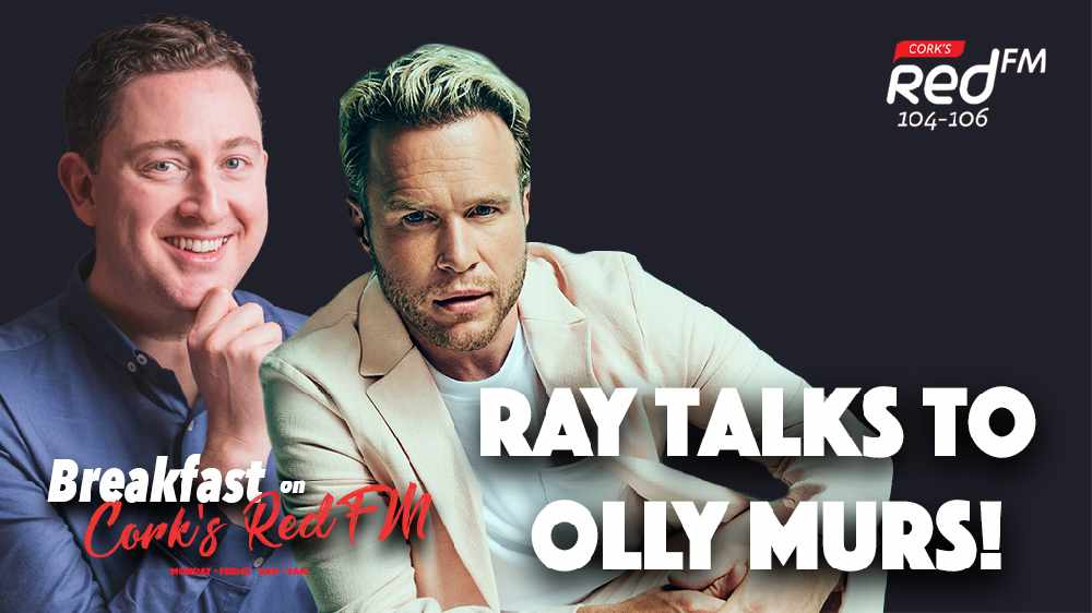 LISTEN BACK: Olly Murs speaks to Ray Foley ahead of his 2021 Live At The Marquee show!