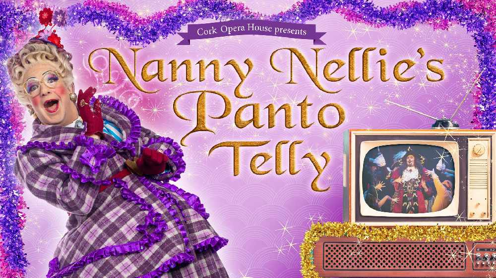 LISTEN BACK: Ray and Laura speak to the Queen of Panto Nanny Nellie about her Panto Telly with Cork Opera House