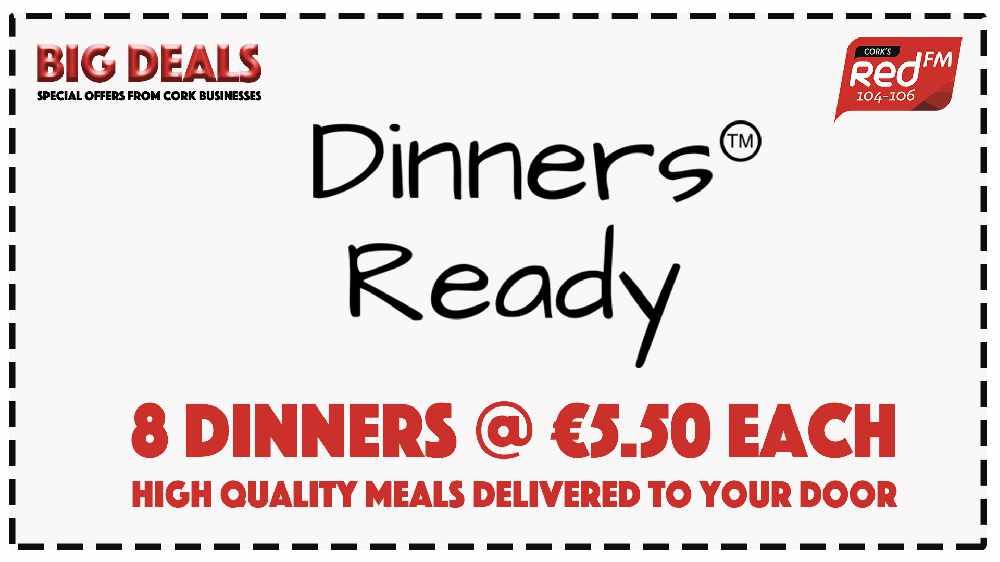 Dinners Ready - 8 Dinners @ €5.50 Each