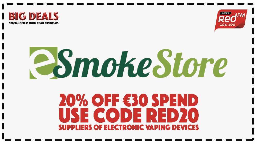 eSmoke Store - 20% off €30 spend